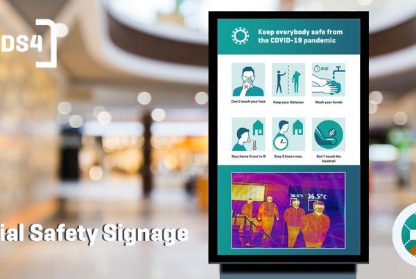 Social Safety Signage